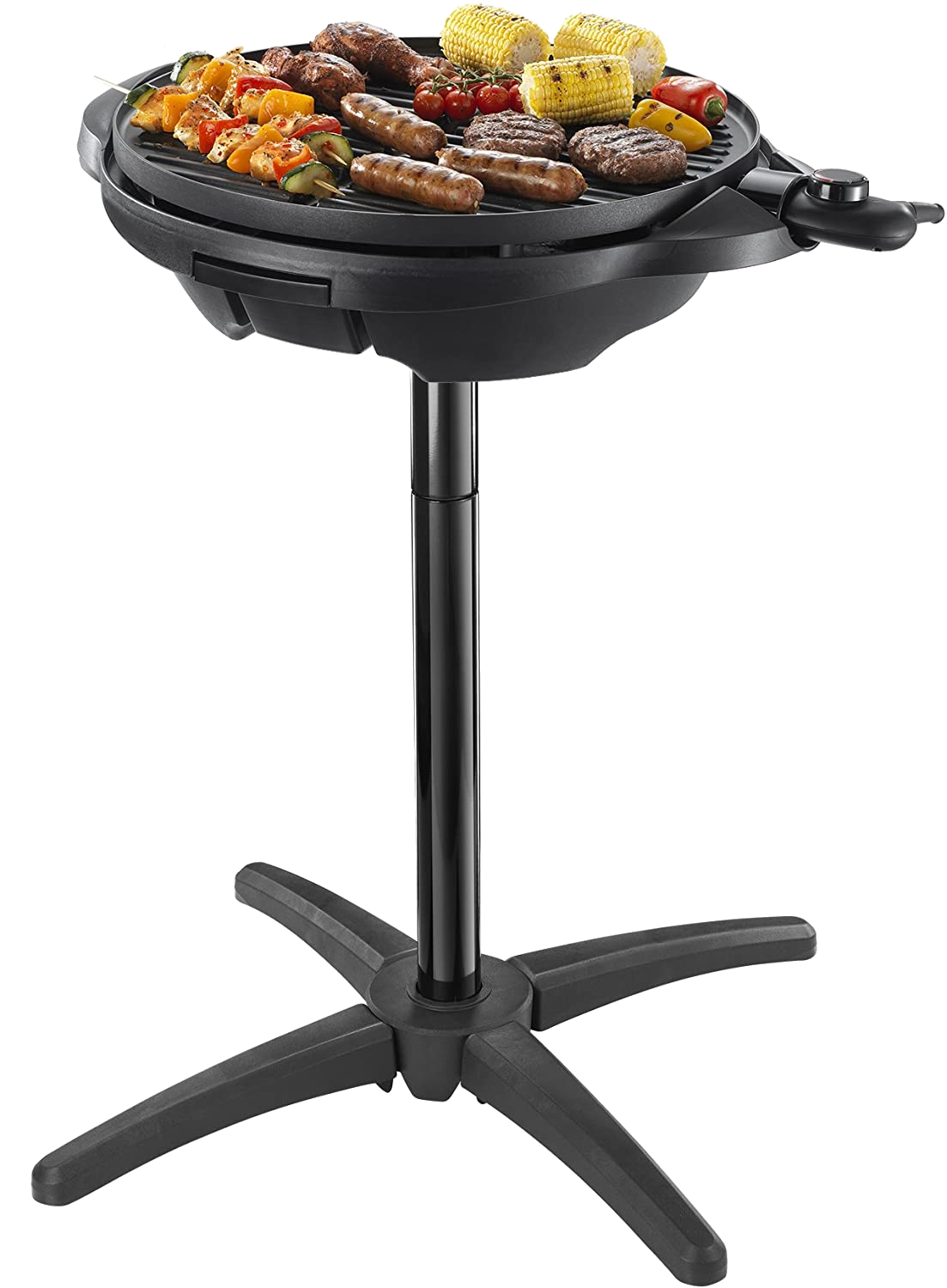 George Foreman Electric BBQ Grill on stand 2